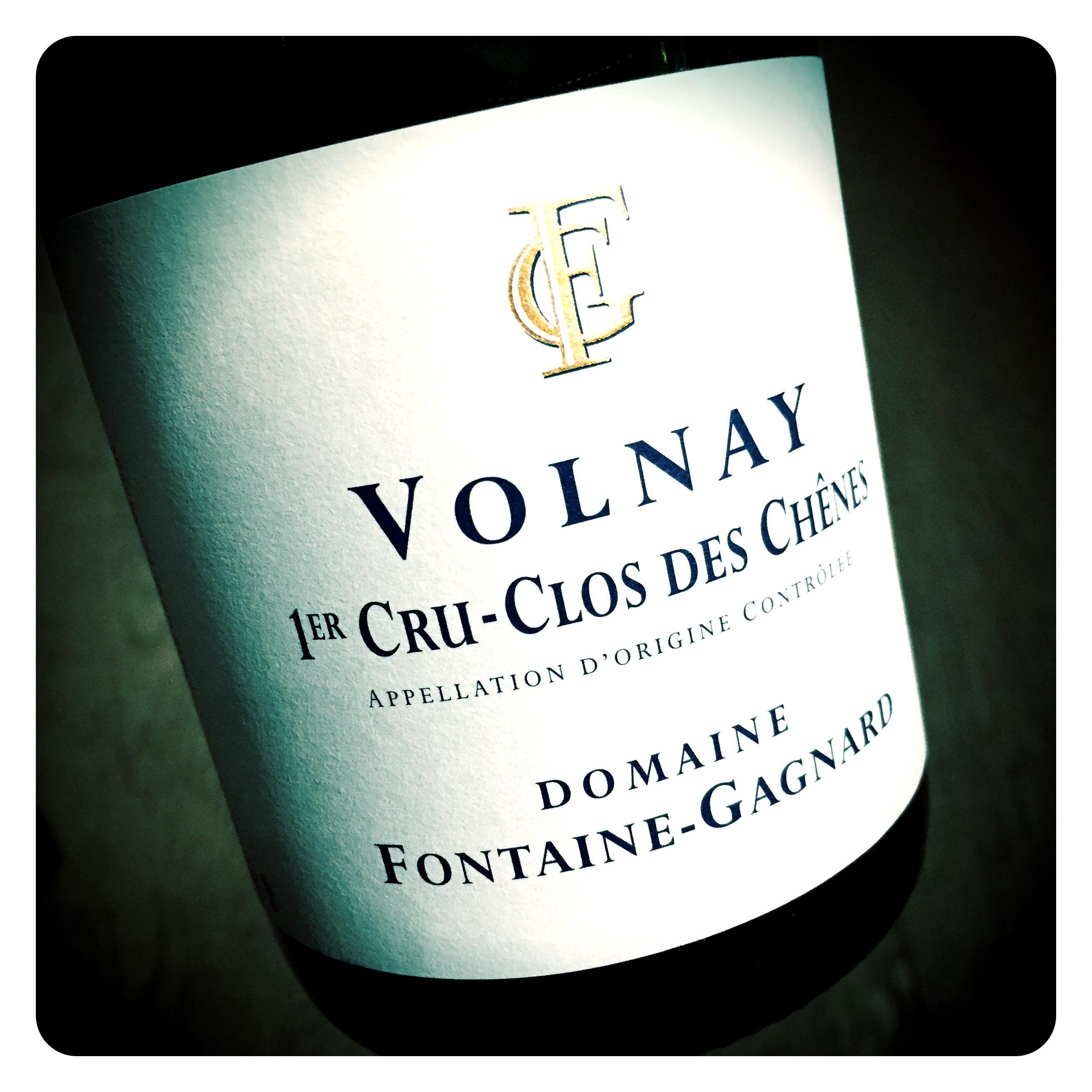 Seduced By Domaine Fontaine Gagnard Volnay 1er Cru Clos Des Chênes Greg Sherwood Mw